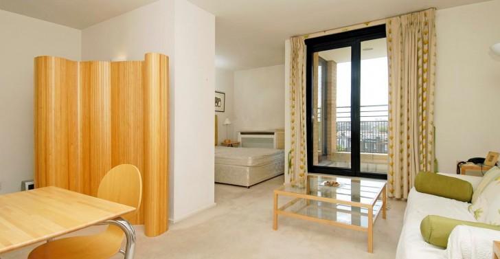 Apartment , 8 Popular Studio Apartment Dividers :  studio apartment design