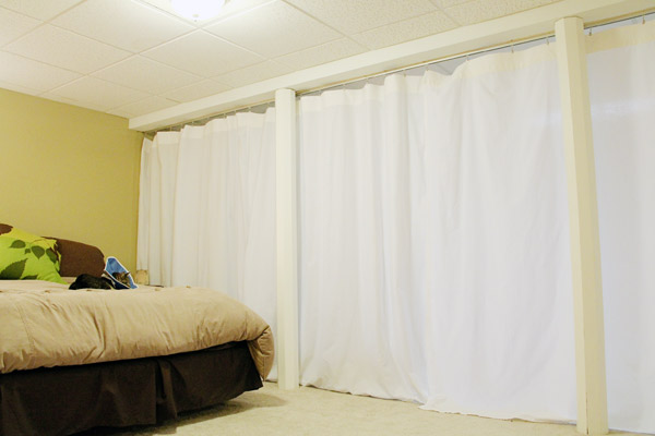 Others , 7 Top Room Divider Curtains : the basement