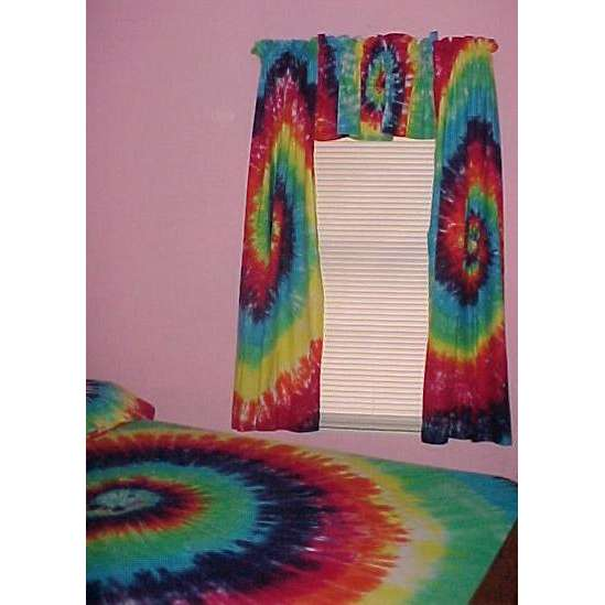 Others , 7 Best Tie Dye Curtains : tie dye curtains