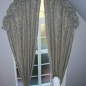 triple pleat curtaints , 8 Hottest Curtains For Arched Windows In Others Category