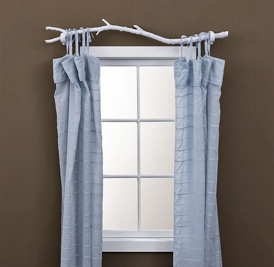 Others , 7 Unique Curtain Rods : unique curtain rods