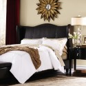 venice wing headboard queen , 8 Amazing Winged Headboard In Bedroom Category