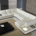 white modern leather , 7 Stunning Sectional Couches In Furniture Category