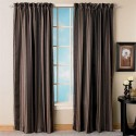 window curtain , 8 Superb Room Darkening Curtains In Interior Design Category