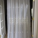 window curtain , 7 Best Embroidered Sheer Curtains In Others Category