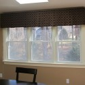 window shade , 8 Top Box Pleat Valance In Interior Design Category