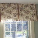 window treatments for french doors , 8 Top Box Pleat Valance In Interior Design Category