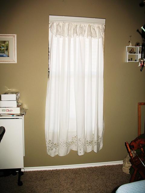 Others , 8 Fabulous Battenburg Lace Curtains :  window treatments