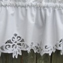 window treatments , 8 Fabulous Battenburg Lace Curtains In Others Category