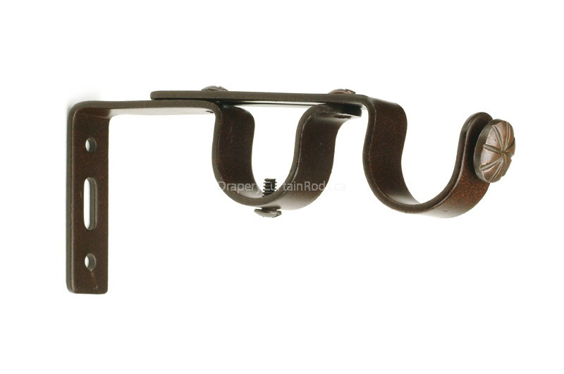 800x530px 6 Awesome Double Curtain Rod Bracket Picture in Others