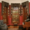windows blinds , 8 Gorgeous Victorian Window Treatments In Interior Design Category