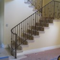 wrought iron fence , 8 Nice Wrought Iron Stair Railing In Interior Design Category