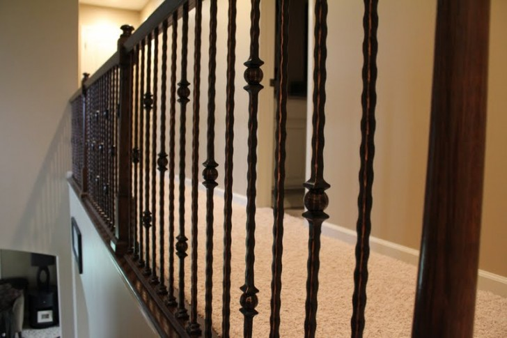 Others , 6 Fabulous Wrought Iron Spindles :  wrought iron fence