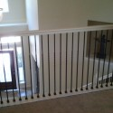 wrought iron railings , 7 Fabulous Iron Balusters In Interior Design Category