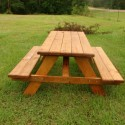 yellawood picnic table , 8 Good Rustic Picnic Tables In Furniture Category