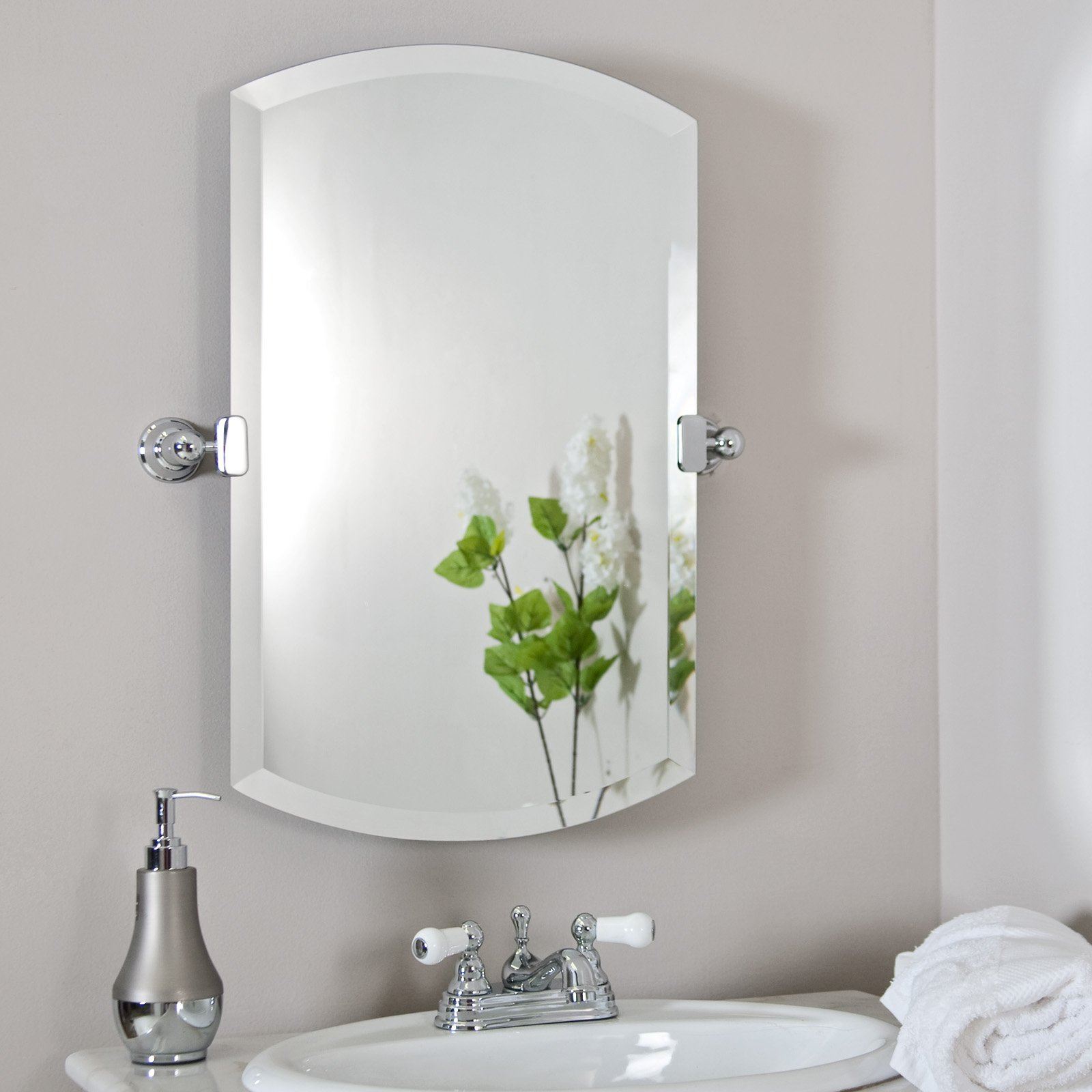 1600x1600px 4 Nice Bathroom Mirror Decorating Ideas Picture in Bathroom