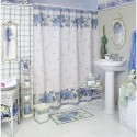 Bathroom curtain ideas white blue , 7 Unique Curtain Ideas For Bathroom In Bathroom Category