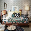 Bedroom Bohemian Layered textiles , 8 Gorgeous Bedroom Textiles In Bedroom Category