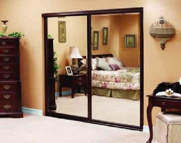 Bathroom , 11 Ideal Mirror Ideas For Bedrooms : Bedroom Mirror Doors