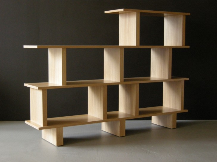 Furniture , 11 Awesome Bookcases As Room Dividers : Bookcase Room Divider