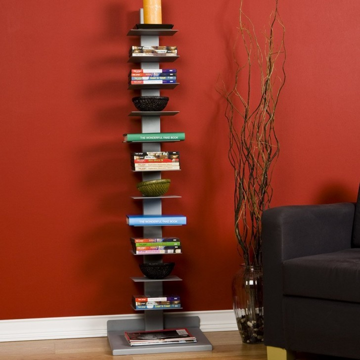Furniture , 7 Hottest Small Bookcases For Small Spaces : Bookcases For Small Spaces