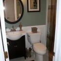 Budget Small Bathroom Makeover , 10 Amazing Bathroom Makeovers For Small Bathrooms In Bathroom Category