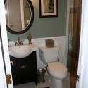 Budget Small Bathroom Makeover , 10 Amazing Bathroom Makeovers For Small Bathrooms In Bathroom Category