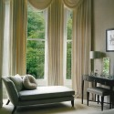 Chaise in bay window , 11 Unique Bay Window Dressing In Interior Design Category