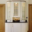 Cream painted kitchen display cabinet , 9 Hottest Kitchen Display Cabinet In Kitchen Category