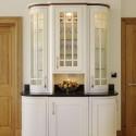Cream painted kitchen display cabinet , 10 Amazing Kitchen Display Cabinets In Kitchen Category
