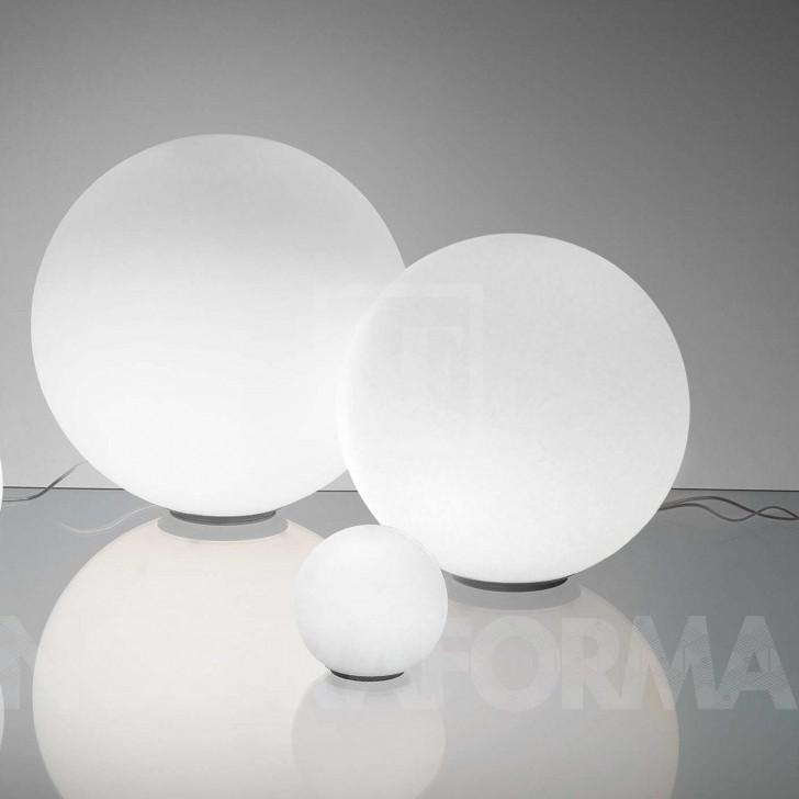 Lightning , 8 Stunning Artemide Dioscuri : Dioscuri Tavolo table lamp