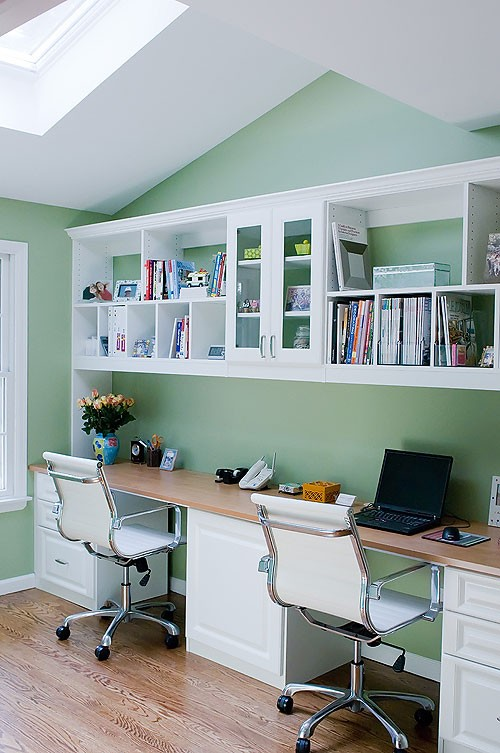 Office , 8 Good Double Desks For Home Office : Double Desks