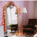 Fairy lights decorate , 11 Ideal Mirror Ideas For Bedrooms In Bathroom Category