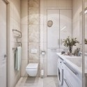 Fancy Vertical Bathroom Layout , 9 Superb Bathroom Designs For Small Spaces In Bathroom Category