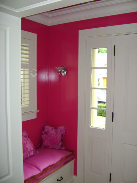 Interior Design , 8 Cool Hot Pink Interior Paint : High Gloss And Hot Pink