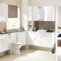 Kitchen Cabinets White Gloss Kitchen , 9 Fabulous Vintage Style Kitchen Cabinets In Kitchen Category