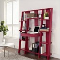 Furniture , 7 Hottest Small bookcases for small spaces : Ladder Shelf Bookcases Ideas