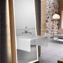 Large Bathroom Mirror Styles , 8 Awesome Unusual Bathroom Mirrors In Bathroom Category