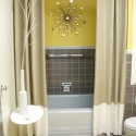Modern Shower Curtains Design Ideas , 7 Unique Curtain Ideas For Bathroom In Bathroom Category