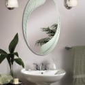 Oval bathroom mirrors , 8 Awesome Unusual Bathroom Mirrors In Bathroom Category