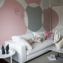 Paint statement circles , 11 Lovely Idea For Painting Walls In Interior Design Category