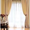 Sheer Curtain Rods , 10 Superb Sheer Window Treatment Ideas In Interior Design Category