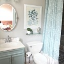 Small Blue Bathroom Makeover , 10 Amazing Bathroom Makeovers For Small Bathrooms In Bathroom Category