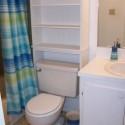 Small bath Brown Green Redo , 10 Popular Small Bathroom Redos In Bathroom Category