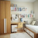 Small bedroom storage ideas , 12 Good Shelving Ideas For Bedrooms In Bedroom Category