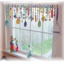 Super Kitschy Colorful Whimsical Kitchen , 11 Awesome Window Dressings Ideas In Interior Design Category