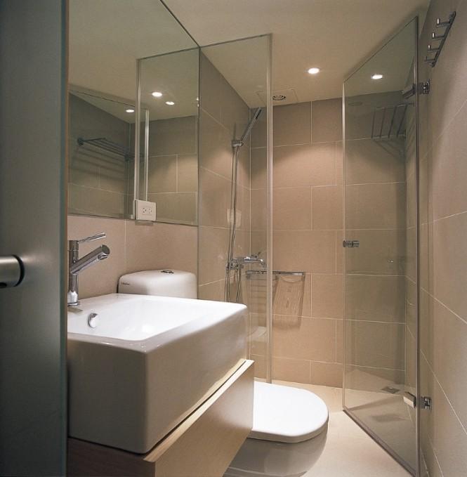 Bathroom , 11 Charming Bathroom Designs Small Space : Taiwan House Shows