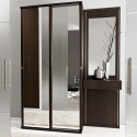 Unico Contemporary Wenge and Mirrored Hallway , 10 Fabulous Contemporary Hallway Furniture In Furniture Category