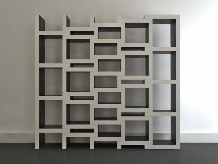 Furniture , 10 Cool Bookcase Designs : Unique Modular Bookcase Design