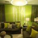 Wall Painting make Soft And Calm , 15 Popular New Ideas For Painting Walls In Interior Design Category